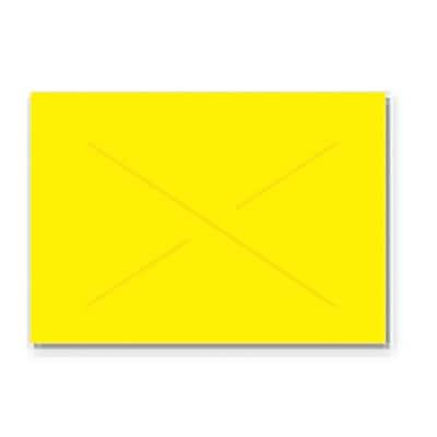 Garvey® Blank Label, Yellow, 16 mm x 22 mm, 9000 Labels/Sleeve (GX2216)