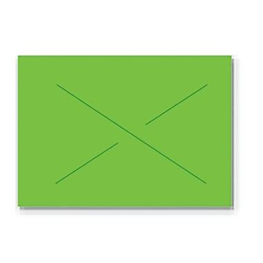 Garvey® Blank Label, Fluorescent Green, 16 mm x 22 mm, 9000 Labels/Sleeve (GX2216)