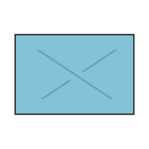 Garvey® Blank Labels, 16 mm x 25 mm, 8000 Labels/Sleeve (2516-09520)