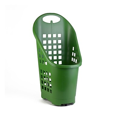 Garvey® Plastic Flexi Cart, 2.3 cu. ft., Green (BSKT-55002)