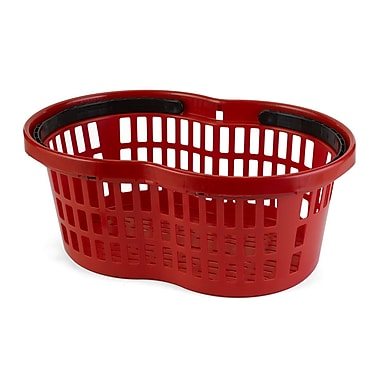 Garvey® Polypropylene Flexi Basket, 3/4 cu. ft., Red (BSKT-56000)