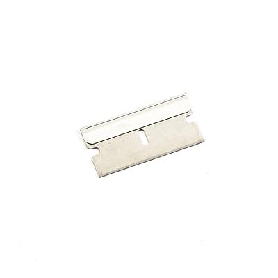 Garvey® Heavy-Duty Single-Edge Cutter Blade for Jiffi-Cutter and Window Scraper, Silver, 100/Pack (CUT-40474)