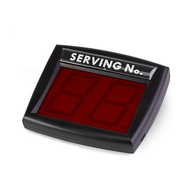 Garvey® My Turn Que System, Black/Red (TAGS-10000)