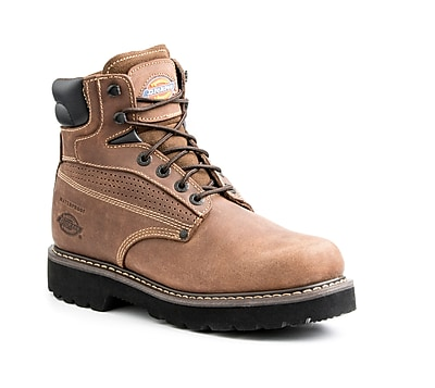 DICKIES Breaker Steel Toe EH Work Boot 8 Brown