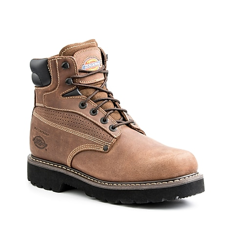 Dickies Breaker Steel Toe EH Work Boot 12 Brown
