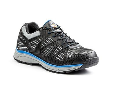 DICKIES Fury EXO-LITE Men's Steel-Toe Work Shoes, 9, Blue