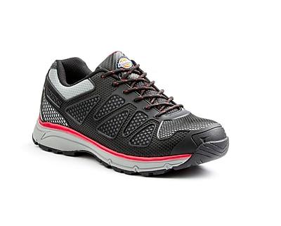 DICKIES Fury Low Steel Toe EH Work Shoe 12 Red