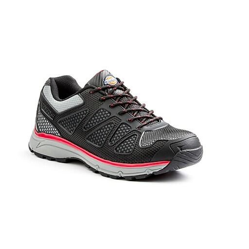 DICKIES Fury Low Steel Toe EH Work Shoe 8 Red