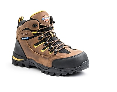 Dickies Sierra Steel Toe EH Work Shoe 11 Brown