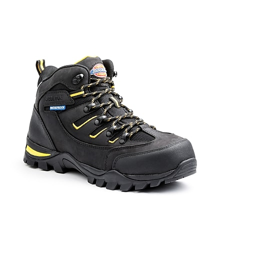 Dickies Sierra Steel Toe EH Work Shoe 9 Black