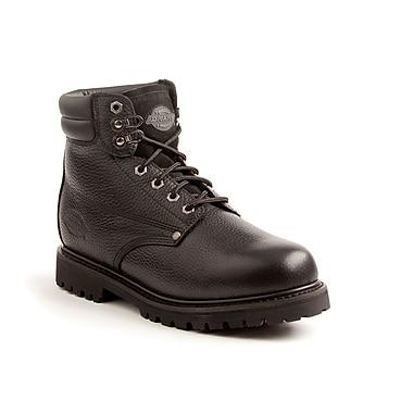 DICKIES Raider Work Boot, 8, Black