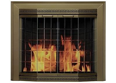 Pleasant Hearth Grandior Bay Fireplace Screen and
