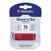 Verbatim® 16GB Store 'n' Go USB Flash Drive