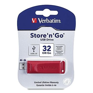 Verbatim® 32GB Store 'n' Go USB Flash Drive