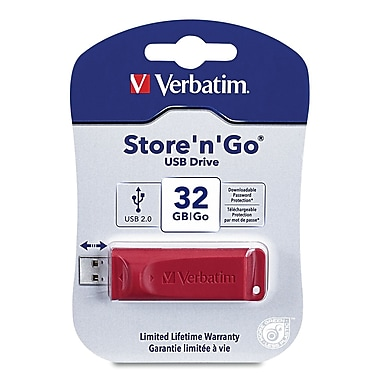 Verbatim® - Clé Flash USB Store 'n' Go 32 Go
