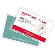 Royal Sovereign  5 mil Thermal Laminating Pouch Film, Business Card, 100/Pack (RF05BUSC0100)