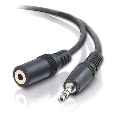 C2G 6Ft 3.5Mm Stereo Audio Extcbl M/F (13787)