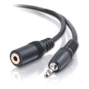 C2G – Câble de rallonge audio stéréo 3,5 mm M/F, 6 pi (13787)