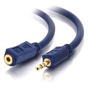 C2G – Câble de rallonge audio stéréo de 3,5 mm Velocity, mâle/femelle, 3 pi (40607)