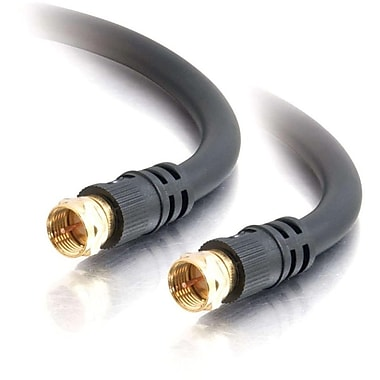 C2G 25Ft Value Series F-Type M/Mrg6 Coaxial Video Cable (29134)