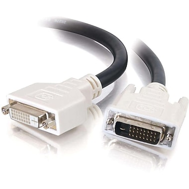 C2G 16.4Ft Dvi-D M/F Dual Linkdigital Video Extension Cable (29530)