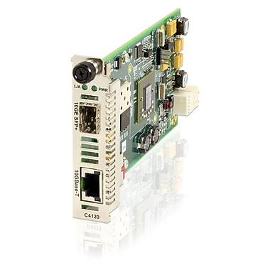 Transition Networks – Convertisseur de média cuivre vers fibre 10GBaseT, 1 x réseau (RJ-45), 10GBase, (C4120-1048)