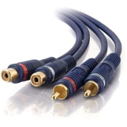 C2G 25Ft Velocity Rca M/F Stereoaudio Extension Cable (13042)