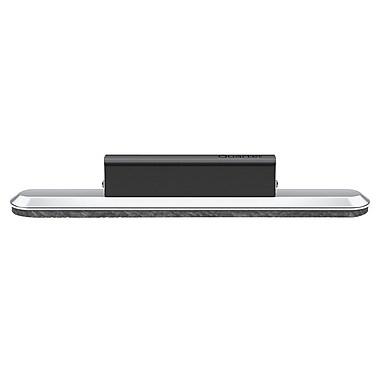 Quartet® Prestige 2 Connects™ 2-in-1 Eraser with Handle Black/Silver 2.13