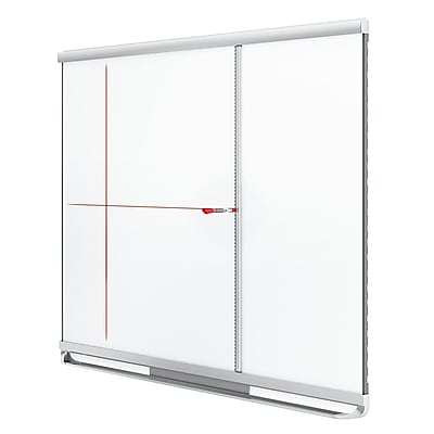 Quartet® Prestige 2 Connects™ Full Board Grid Assistant For 3' x 4' Board, Silver