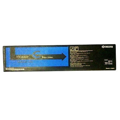 Kyocera Toner Cartridge For Kyocera-Mita TASKALFA 3050c, Cyan