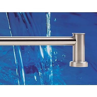 Alno Infinity Wall Mounted Towel Bar; Satin Nickel