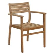 International Home Miami Canberra Stacking Patio Dining Chair (Set of 2)