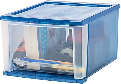 IRIS® Plastic Storage Drawer, 4 Pack (129834)