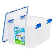 Ziploc® 44 Quart WeatherShield Storage Box, 4 Pack (394055)