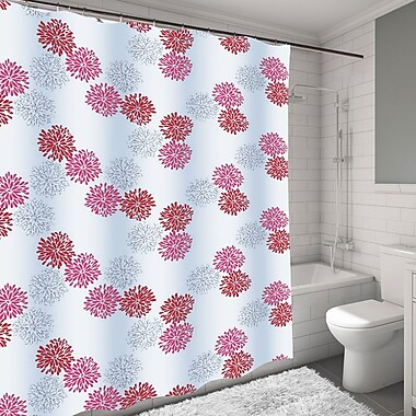 Carnation Home Fashions Emma Shower Curtain