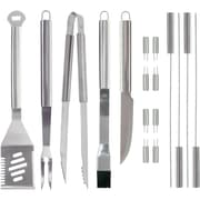 Mr. Bar-B-Q 18 Piece Tool Set with Aluminum Case
