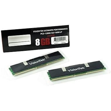 VisionTek –Mémoire d'ordinateur 900402CA DDR3 de 1600 MHz et de 8 Go