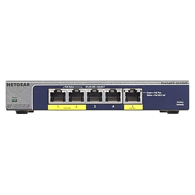 Netgear GS105PE10000S 5-Port Unmanaged Gigabit Ethernet Switch