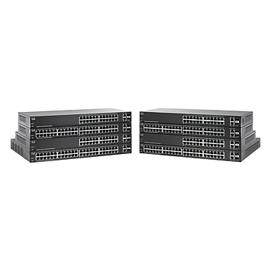 Cisco – Commutateur Ethernet Gigabit géré SF220-24-K9-NA à 24 ports