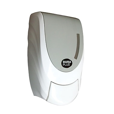 Dura Plus Manual Foam Soap Dispenser, White Plastic 1000mL A/barrure, Each