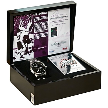 Heritage Hockey Paul Henderson Limited Edition Watch