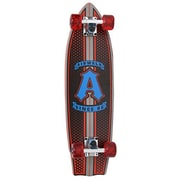 "Airwalk Rocket Series 27.5"" Cruiser Skateboard, ""A"", Red"