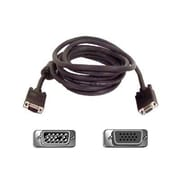 Belkin™ PRO Series 6' HD-15 VGA Male/Male High-Integrity SVGA Monitor Cable, Charcoal Gray