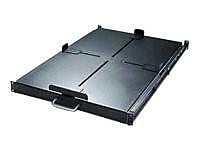 APC by Schneider Electric Rack-Mountable Sliding Shelf, Black (AR8128)