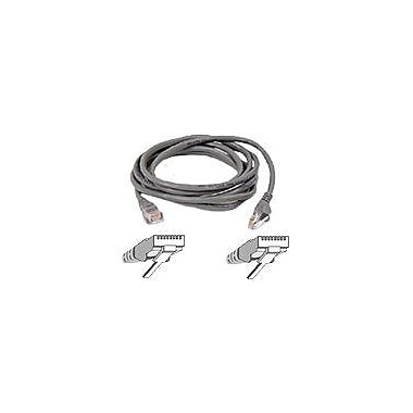 Belkin™ A3L791 14' RJ-45 Male to Male CAT5e Snagless Patch Cable, Gray