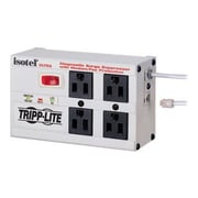 Tripp Lite Isobar ISOTEL4ULTRA 4-Outlet 3300 J Surge Protector, 6' Power Cord