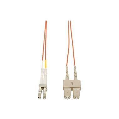 Tripp Lite® N316 6' Multi-Mode Fiber Duplex LC to SC Male/Male Patch Cable, Orange