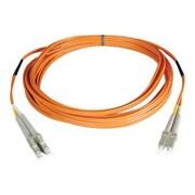 Tripp Lite N320 16' LC Duplex Male to Male Multimode Fiber Patch Cable, Orange