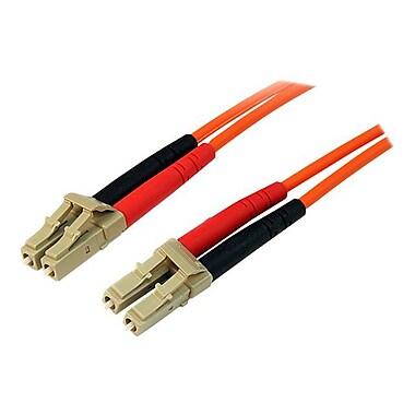 StarTech 50FIBLCLC5 5m Multimode 50/125 Duplex Fiber Patch Cable LC