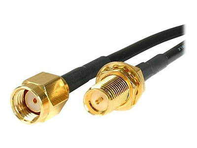 StarTech 10ft RP-SMA to RP-SMA Wireless Antenna Adapter Cable, M/F